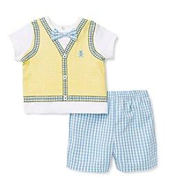 Little Me® Baby Boys' Bear Vest Shorts Set