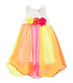 Rare Editions® Girls' 4-6X Chiffon Dress