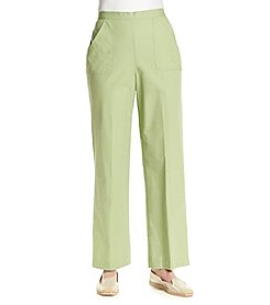 Alfred Dunner® Key Largo Solid Pull On Pant