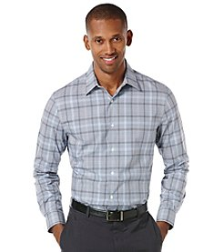 Perry Ellis® Men's Long Sleeve Plaid Gingham Woven
