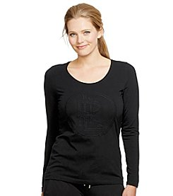 Lauren Active® Plus Size Scoopneck Shirt