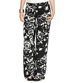 Lauren Ralph Lauren® Plus Size Floral Wide-Leg Pants