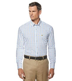 Jack Nicklaus Men's Long Sleeve Tattersal Button