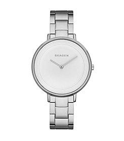 Skagen Denmark Women's Ditte Silvertone Watch