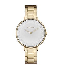 Skagen Denmark Womens Ditte Goldtone Watch