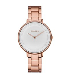 Skagen Denmark Womens Ditte Rose Goldtone Watch