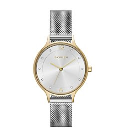 Skagen Denmark Women's Anita Two-Tone Watch