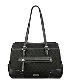 Nine West® 9's Jacquard Satchel