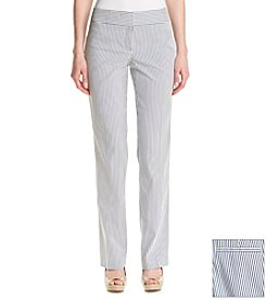 Nine West® Striped Seersucker Trouser Pants