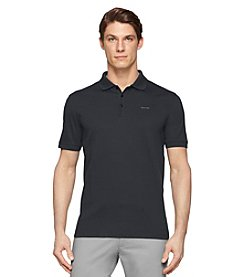 Calvin Klein Men's Short Sleeve Jersey Interlock Polo