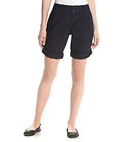 Calvin Klein Performance Button-Up Cargo Shorts
