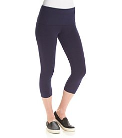 Marc New York Performance Roll Waist Cropped Leggings
