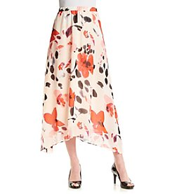Chaus Fanciful Floral Skirt