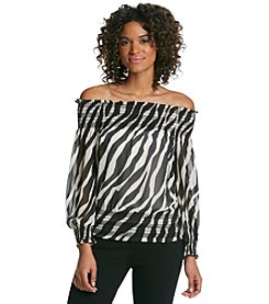 MICHAEL Michael Kors® Off Shoulder Smock Top