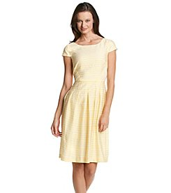 Anne Klein® Stripe Day Dress