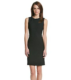 Calvin Klein Jaquard Sheath Dress