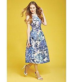 Taylor Dresses Floral Midi Dress