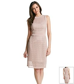 Taylor Dresses Midi Sheath Dress