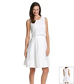 Eliza J® Popover Fit And Flare Dress