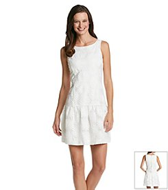 Jessica Simpson Daisy Drop Waist Shift Dress