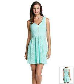 Guess Crochet Zip Dress