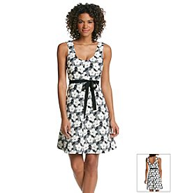 Plenty by Tracy Reese Deco Floral Print Dress