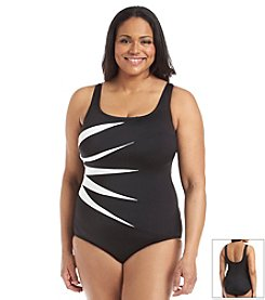 Longitude® Plus Size Fan Club One Piece