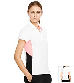 Lauren Active® Color-Blocked Polo Shirt