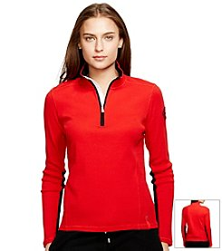 Lauren Active Cotton Mockneck Pullover