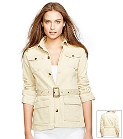 Lauren Jeans Co.® Belted Denim Jacket