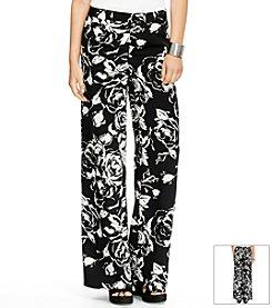 Lauren Ralph Lauren® Floral Wide-Leg Pants