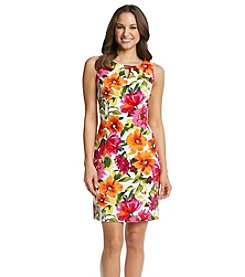 Ronni Nicole® Floral Keyhole Sheath Dress