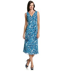Kasper® Palm Knot Dress