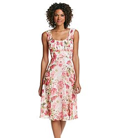 Connected® Rose Chiffon Dress