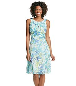 Connected® Floral Chiffon Dress