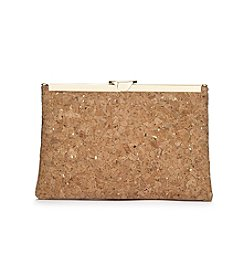 La Regale® Cork Open Hinged Frame Clutch