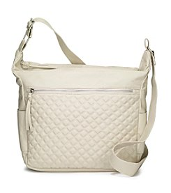 GAL Quilted Hobo Crossbody