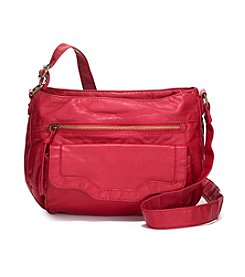 GAL Washed Flap Crossbody