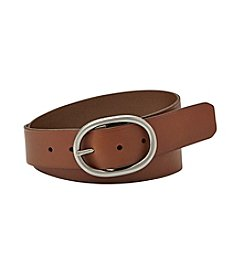 Fossil® Oval Buckle Belt