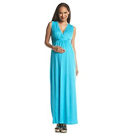 Three Seasons Maternity™ Solid Knit Tank Maxi Dress