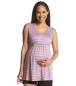 Three Seasons Maternity™ Stripe Knit Tank