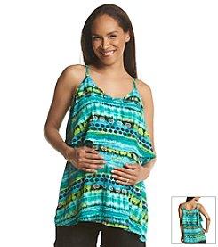 Three Seasons Maternity™ Abstract Print Camisole