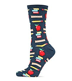Hot Sox Teacher's Pet Crew Socks