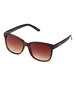 Steve Madden Plastic Rectangle Sunglasses