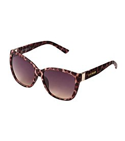 Steve Madden Metal Temple Cat Sunglasses