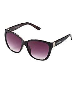 Steve Madden Metal Temple Cat Sunglasses