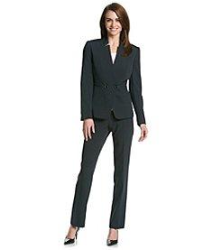 Tahari ASL® Pinstripe Pant Suit Set