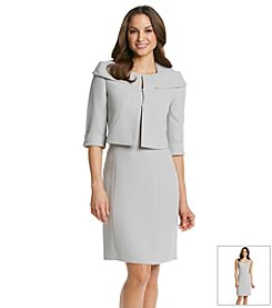 Tahari ASL® Jacket And Dress Suit Set