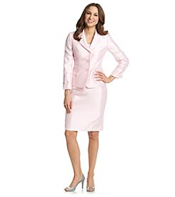 Kasper® Notch Collar Jacket And Skirt Suit Set