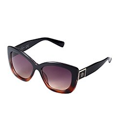 Jessica Simpson Glam Thick Rectangle Sunglasses